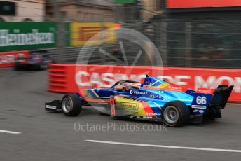World © Octane Photographic Ltd. Formula Renault Eurocup – Monaco GP - Practice. FA Racing by Drivex - Patrick Schott. Monte-Carlo, Monaco. Thursday 23rd May 2019.