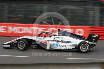 World © Octane Photographic Ltd. Formula Renault Eurocup – Monaco GP - Practice. R-ace GP - Oscar Piastri. Monte-Carlo, Monaco. Thursday 23rd May 2019