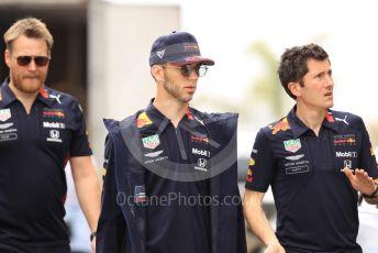 World © Octane Photographic Ltd. Formula 1 – Monaco GP. Track Walk. Aston Martin Red Bull Racing RB15 – Pierre Gasly. Monte-Carlo, Monaco. Wednesday 22nd May 2019.