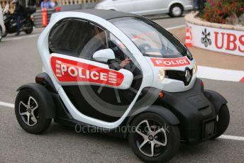 World © Octane Photographic Ltd. Formula 1 – Monaco GP. Atmosphere/Police Car. Monte-Carlo, Monaco. Wednesday 22nd May 2019.