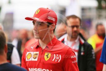 World © Octane Photographic Ltd. Formula 1 – Monaco GP. Paddock. Scuderia Ferrari SF90 – Charles Leclerc. Monte-Carlo, Monaco. Wednesday 22nd May 2019.
