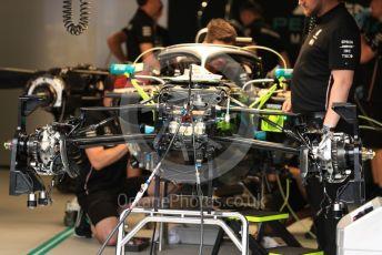 World © Octane Photographic Ltd. Formula 1 – Monaco GP. Setup. Mercedes AMG Petronas Motorsport AMG F1 W10 EQ Power+. Monte-Carlo, Monaco. Wednesday 22nd May 2019.