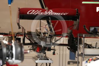 World © Octane Photographic Ltd. Formula 1 – Monaco GP. Setup. Alfa Romeo Racing C38. Monte-Carlo, Monaco. Wednesday 22nd May 2019.