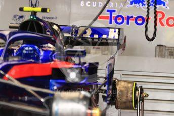 World © Octane Photographic Ltd. Formula 1 – Monaco GP. Track Walk. Scuderia Toro Rosso STR14. Monte-Carlo, Monaco. Wednesday 22nd May 2019.