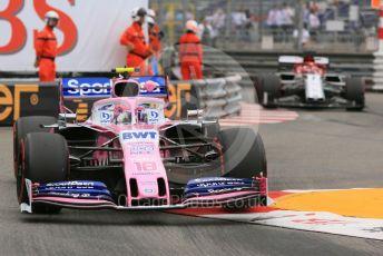 World © Octane Photographic Ltd. Formula 1 – Monaco GP. Practice 1. SportPesa Racing Point RP19 – Lance Stroll. Monte-Carlo, Monaco. Thursday 23rd May 2019.
