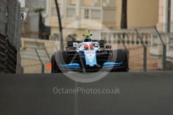 World © Octane Photographic Ltd. Formula 1 – Monaco GP. Practice 1. ROKiT Williams Racing FW42 – Robert Kubica. Monte-Carlo, Monaco. Thursday 23rd May 2019.