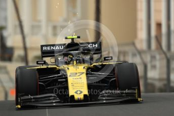 World © Octane Photographic Ltd. Formula 1 – Monaco GP. Practice 1. Renault Sport F1 Team RS19 – Nico Hulkenberg. Monte-Carlo, Monaco. Thursday 23rd May 2019.