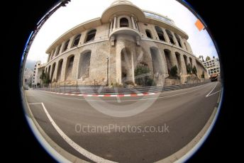 World © Octane Photographic Ltd. Formula 1 – Monaco GP. Practice 2. Buildings in Monte-Carlo, Monaco. Thursday 23rd May 2019.