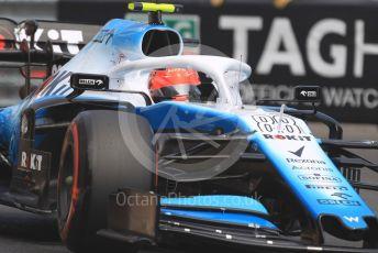 World © Octane Photographic Ltd. Formula 1 – Monaco GP. Practice 2. ROKiT Williams Racing FW42 – Robert Kubica. Monte-Carlo, Monaco. Thursday 23rd May 2019.