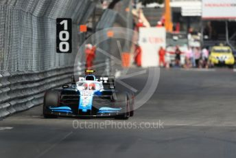 World © Octane Photographic Ltd. Formula 1 – Monaco GP. Practice 2. ROKiT Williams Racing FW42 – Robert Kubica. Monte-Carlo, Monaco. Thursday 23rd May 2019.