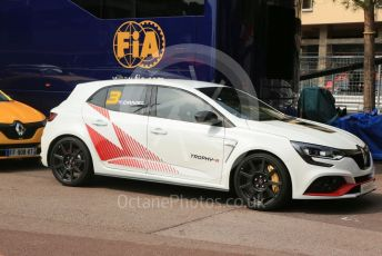 World © Octane Photographic Ltd. Formula 1 – Monaco GP. Practice 3. Renault show run cars. Monte-Carlo, Monaco. Saturday 25th May 2019.