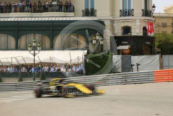 World © Octane Photographic Ltd. Formula 1 – Monaco GP. Practice 3. Renault Sport F1 Team RS19 – Daniel Ricciardo. Monte-Carlo, Monaco. Saturday 25th May 2019.