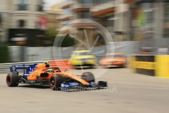 World © Octane Photographic Ltd. Formula 1 – Monaco GP. Practice 3. McLaren MCL34 – Lando Norris. Monte-Carlo, Monaco. Saturday 25th May 2019.