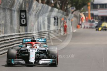 World © Octane Photographic Ltd. Formula 1 – Monaco GP. Practice 3. Mercedes AMG Petronas Motorsport AMG F1 W10 EQ Power+ - Lewis Hamilton. Monte-Carlo, Monaco. Saturday 25th May 2019.