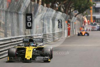 World © Octane Photographic Ltd. Formula 1 – Monaco GP. Practice 3. Renault Sport F1 Team RS19 – Nico Hulkenberg. Monte-Carlo, Monaco. Saturday 25th May 2019.