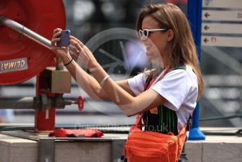World © Octane Photographic Ltd. Formula 1 - Monaco GP. Practice 3. VIPs. Monte-Carlo, Monaco. Saturday 25th May 2019.