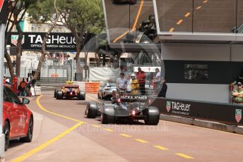 World © Octane Photographic Ltd. Formula 1 – Monaco GP. Practice 3. Rich Energy Haas F1 Team VF19 – Kevin Magnussen. Monte-Carlo, Monaco. Saturday 25th May 2019.
