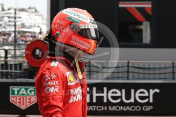 World © Octane Photographic Ltd. Formula 1 – Monaco GP. Practice 3. Scuderia Ferrari SF90 – Sebastian Vettel. Monte-Carlo, Monaco. Saturday 25th May 2019.