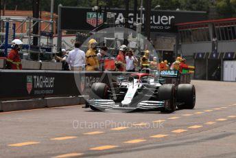 World © Octane Photographic Ltd. Formula 1 – Monaco GP. Practice 3. Mercedes AMG Petronas Motorsport AMG F1 W10 EQ Power+ - Valtteri Bottas. Monte-Carlo, Monaco. Saturday 25th May 2019.