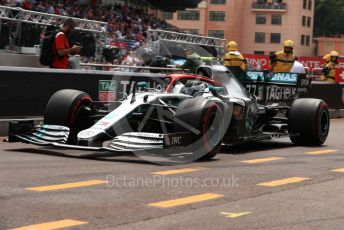 World © Octane Photographic Ltd. Formula 1 – Monaco GP. Practice 3. Mercedes AMG Petronas Motorsport AMG F1 W10 EQ Power+ - Valtteri Bottas. Monte-Carlo, Monaco. Saturday 25th May 2019.