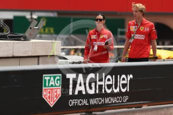 World © Octane Photographic Ltd. Formula 1 - Monaco GP. Practice 3. Brendon Hartley - Ferrari simulator driver. Monte-Carlo, Monaco. Saturday 25th May 2019.