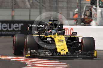 World © Octane Photographic Ltd. Formula 1 – Monaco GP. Qualifying. Renault Sport F1 Team RS19 – Daniel Ricciardo. Monte-Carlo, Monaco. Saturday 25th May 2019.