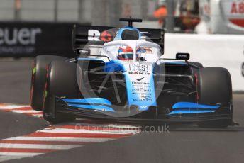 World © Octane Photographic Ltd. Formula 1 – Monaco GP. Qualifying. ROKiT Williams Racing FW 42 – George Russell. Monte-Carlo, Monaco. Saturday 25th May 2019.