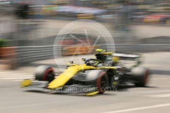 World © Octane Photographic Ltd. Formula 1 – Monaco GP. Qualifying. Renault Sport F1 Team RS19 – Nico Hulkenberg. Monte-Carlo, Monaco. Saturday 25th May 2019.
