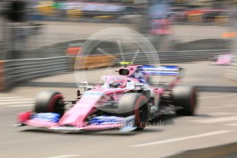 World © Octane Photographic Ltd. Formula 1 – Monaco GP. Qualifying. SportPesa Racing Point RP19 – Lance Stroll. Monte-Carlo, Monaco. Saturday 25th May 2019.