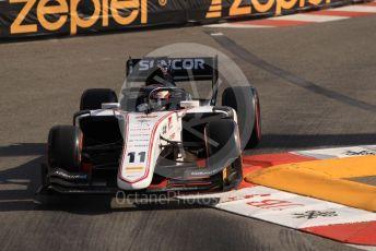 World © Octane Photographic Ltd. FIA Formula 2 (F2) – Monaco GP - Practice. Sauber Junior Team - Callum Ilott. Monte-Carlo, Monaco. Thursday 23rd May 2019.
