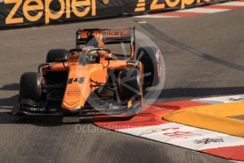 World © Octane Photographic Ltd. FIA Formula 2 (F2) – Monaco GP - Practice. Campos Racing - Dorian Boccolacci. Monte-Carlo, Monaco. Thursday 23rd May 2019.
