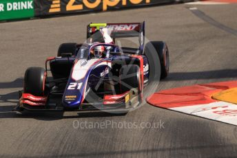 World © Octane Photographic Ltd. FIA Formula 2 (F2) – Monaco GP - Practice. Trident - Ralph Boschung. Monte-Carlo, Monaco. Thursday 23rd May 2019.