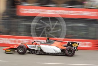 World © Octane Photographic Ltd. FIA Formula 2 (F2) – Monaco GP - Qualifying. MP Motorsport - Mahaveer Raghunathan. Monte-Carlo, Monaco. Thursday 23rd May 2019.
