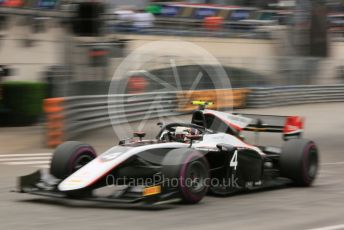 World © Octane Photographic Ltd. FIA Formula 2 (F2) – Monaco GP - Qualifying. ART Grand Prix - Nyck de Vries. Monte-Carlo, Monaco. Thursday 23rd May 2019.
