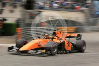 World © Octane Photographic Ltd. FIA Formula 2 (F2) – Monaco GP - Qualifying. Campos Racing - Dorian Boccolacci. Monte-Carlo, Monaco. Thursday 23rd May 2019.