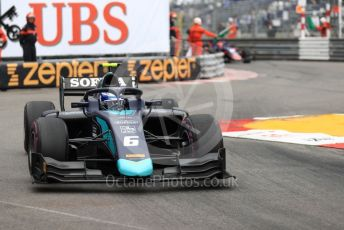 World © Octane Photographic Ltd. FIA Formula 2 (F2) – Monaco GP - Race 1. DAMS - Nicholas Latifi. Monte-Carlo, Monaco. Friday 24th May 2019.