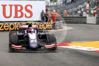 World © Octane Photographic Ltd. FIA Formula 2 (F2) – Monaco GP - Race 1. Trident - Ralph Boschung. Monte-Carlo, Monaco. Friday 24th May 2019.