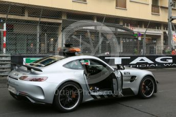 World © Octane Photographic Ltd. FIA Formula 2 (F2) – Monaco GP - Race 1. Mercedes AMG GT Safety Car. Monte-Carlo, Monaco. Friday 24th May 2019.