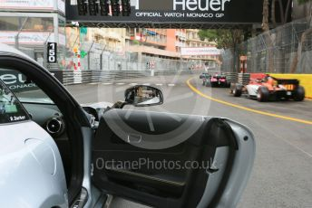 World © Octane Photographic Ltd. FIA Formula 2 (F2) – Monaco GP - Race 1. MP Motorsport - Mahaveer Raghunathan. Monte-Carlo, Monaco. Friday 24th May 2019.
