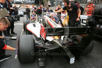 World © Octane Photographic Ltd. FIA Formula 2 (F2) – Monaco GP - Race 1. ART Grand Prix - Nyck de Vries. Monte-Carlo, Monaco. Friday 24th May 2019.