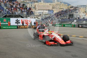 World © Octane Photographic Ltd. FIA Formula 2 (F2) – Monaco GP - Race 1. Prema Racing – Mick Schumacher. Monte-Carlo, Monaco. Friday 24th May 2019.