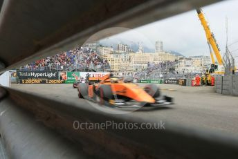 World © Octane Photographic Ltd. FIA Formula 2 (F2) – Monaco GP - Race 1. Campos Racing - Dorian Boccolacci. Monte-Carlo, Monaco. Friday 24th May 2019.