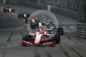 World © Octane Photographic Ltd. FIA Formula 2 (F2) – Monaco GP - Race 1. Prema Racing - Sean Gelael. Monte-Carlo, Monaco. Friday 24th May 2019.