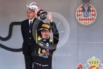 World © Octane Photographic Ltd. FIA Formula 2 (F2) – Monaco GP - Race 2. Virtuosi Racing - Guanyu Zhou. Monte-Carlo, Monaco. Saturday 25th May 2019.
