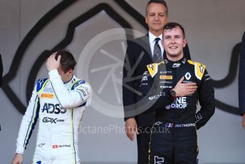 World © Octane Photographic Ltd. FIA Formula 2 (F2) – Monaco GP - Race 2. BWT Arden - Anthoine Hubert, Carlin - Louis Deletraz. Monte-Carlo, Monaco. Saturday 25th May 2019.
