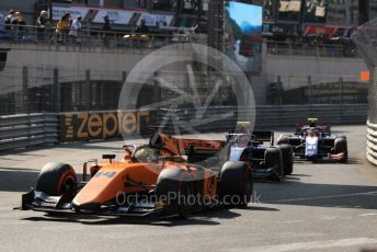 World © Octane Photographic Ltd. FIA Formula 2 (F2) – Monaco GP - Race 2. Campos Racing - Dorian Boccolacci. Monte-Carlo, Monaco. Saturday 25th May 2019.