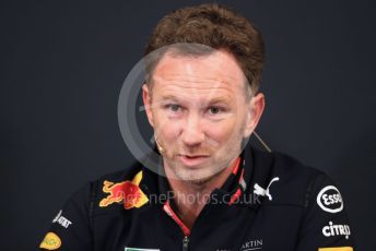 World © Octane Photographic Ltd. Formula 1 - Monaco GP. Thursday F1 Press Conference. Christian Horner - Team Principal of Red Bull Racing. Monte-Carlo, Monaco. Thursday 23rd May 2019.