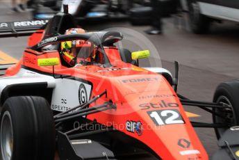 World © Octane Photographic Ltd. Formula Renault Eurocup – Monaco GP - Qualifying. MP Motorsport - Lorenzo Colombo. Monte-Carlo, Monaco. Friday 24th May 2019.