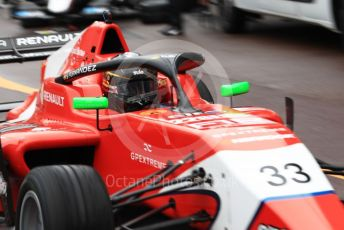 World © Octane Photographic Ltd. Formula Renault Eurocup – Monaco GP - Qualifying. Arden - Sebastian Fernandez. Monte-Carlo, Monaco. Friday 24th May 2019.