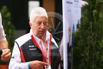 World © Octane Photographic Ltd. Formula 1 – Monaco GP. Paddock. Herbie Blash - Porsche Mobil 1 Supercup. Monte-Carlo, Monaco. Sunday 26th May 2019.